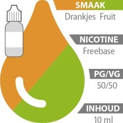 E-liquid Drankjes Fruit Freebase 50%/50%