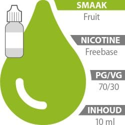 E-liquid Fruit Freebase 70%/30%
