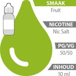 E-liquid Fruit Nic Salt 50%/50%