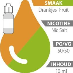 E-liquid Drankjes Fruit Nic Salt 50%/50%