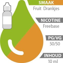 E-liquid Fruit Drankjes Freebase 50%/50%